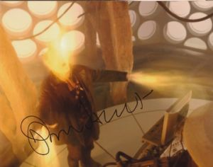 John Hurt - The War  Doctor, 10x 8 picture. This is an original autograph and not a copy. 10320